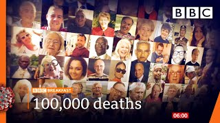 UK Covid deaths: Why the 100,000 toll is so bad 🔴 @BBC News live - BBC