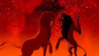 Król Lew - Śmierć Skazy / The Lion King - Scar's Death
