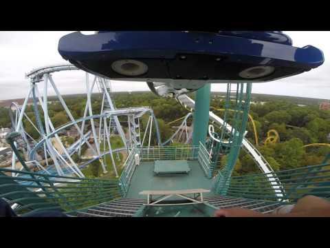 Alpengeist Front Seat On Ride Pov Busch Gardens