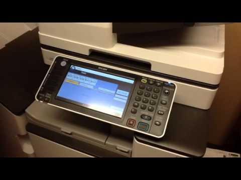 Ricoh Copier Printer Scanner Basics Youtube