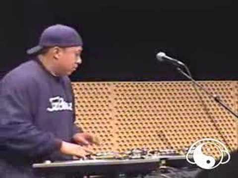 DJ Babu Demonstrates Beat Juggling