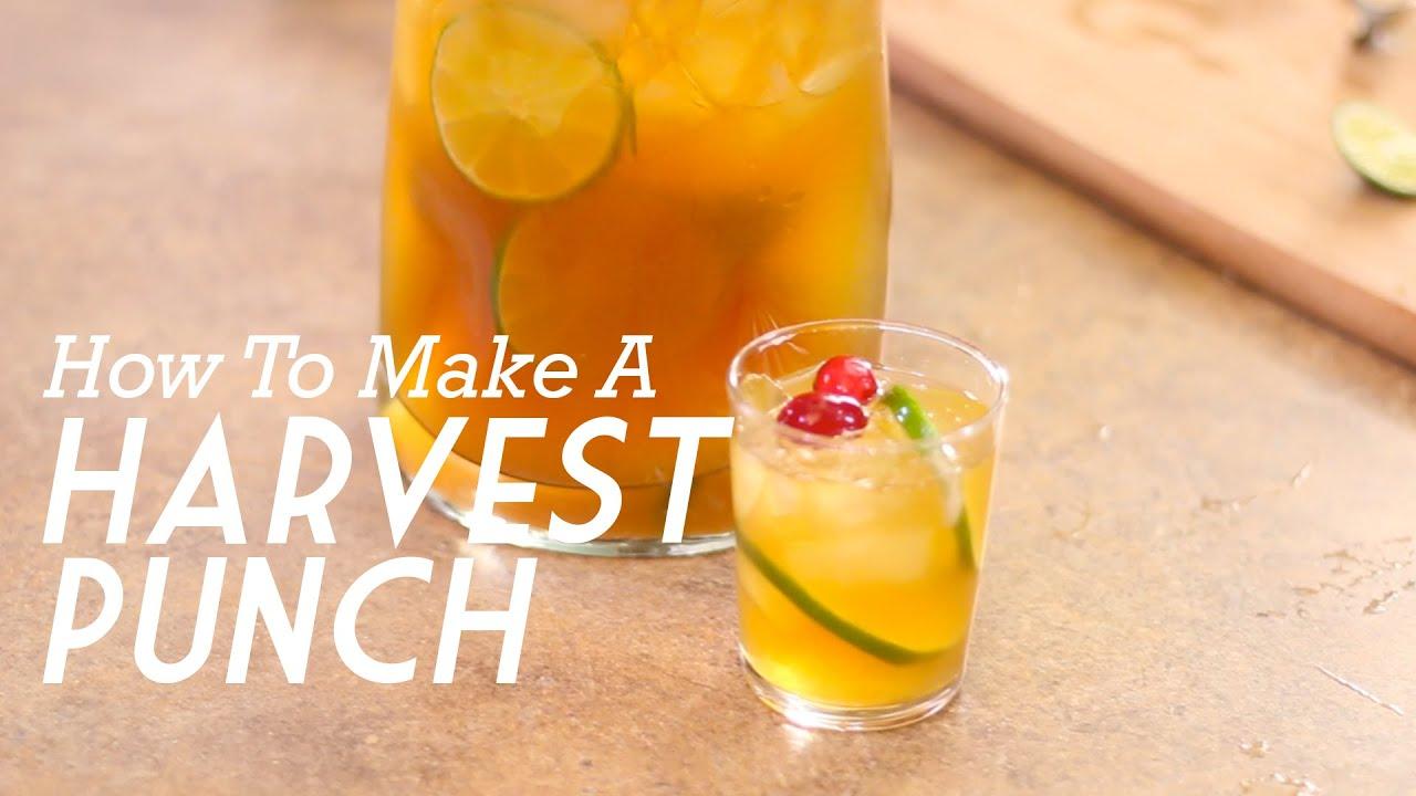 harvest punchwhiskey with wes - youtube