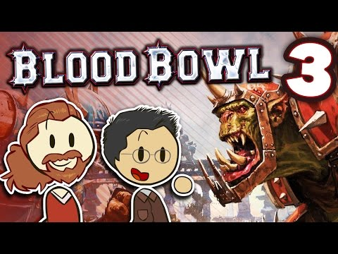Blood Bowl - #3 - Attrition - WILL vs FRED