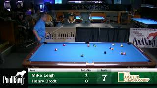 2018 US Amateur Championship - Mike Leigh Vs Henry Brodt