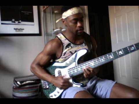 Bruno Mars-24k Magic-Bass Cover by Trevor James
