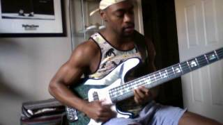 Bruno Mars-24k Magic-Bass Cover by Trevor James