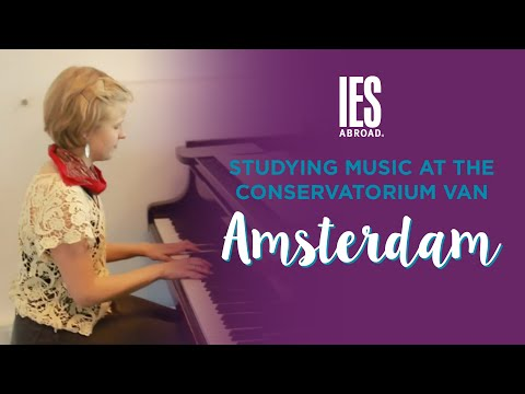 AMSTERDAM | Study Abroad | Studying Music at the Conservatorium van Amsterdam