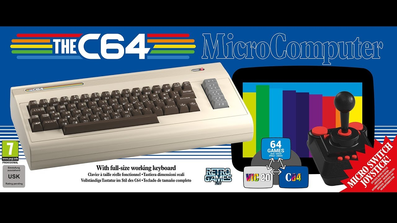 The C64 Full Size Remake Trailer