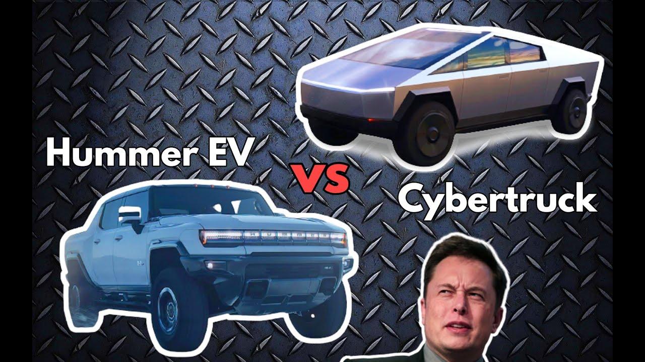 GMC Hummer EV vs Tesla Cybertruck Spec Comparison | WHAT Was GM Thinking?? | Opinions