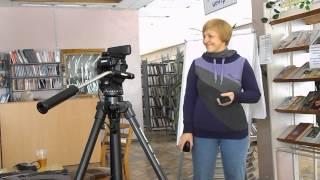 Елена Костенко в Краматорской школе блогеров