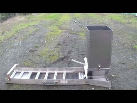 Quot Sluice Box Feeder Quot Cool New Gold Mining Tool Quot Self