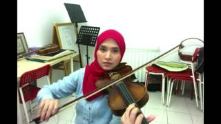Tajul - Sedalam Dalam Rindu ( Violin cover by Endang Hyder )