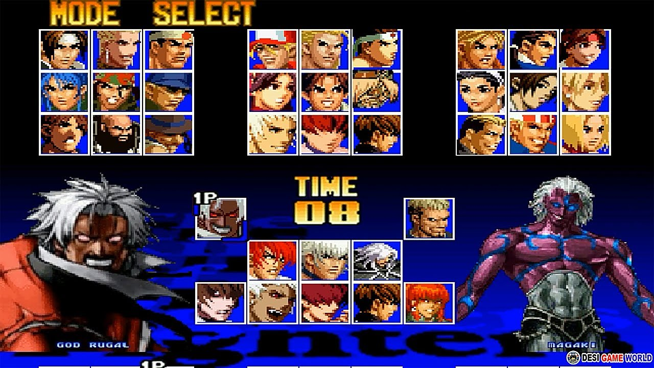 The King Of Fighters 97 All Mix Boss HD New Update 2021