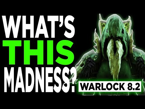 WHAT'S THIS MADNESS? 8.2 Affliction Warlock PVP BFA | Battle for Azeroth