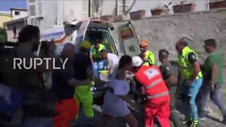 Italy  Boy rescued from rubble after deadly quake hits Ischia