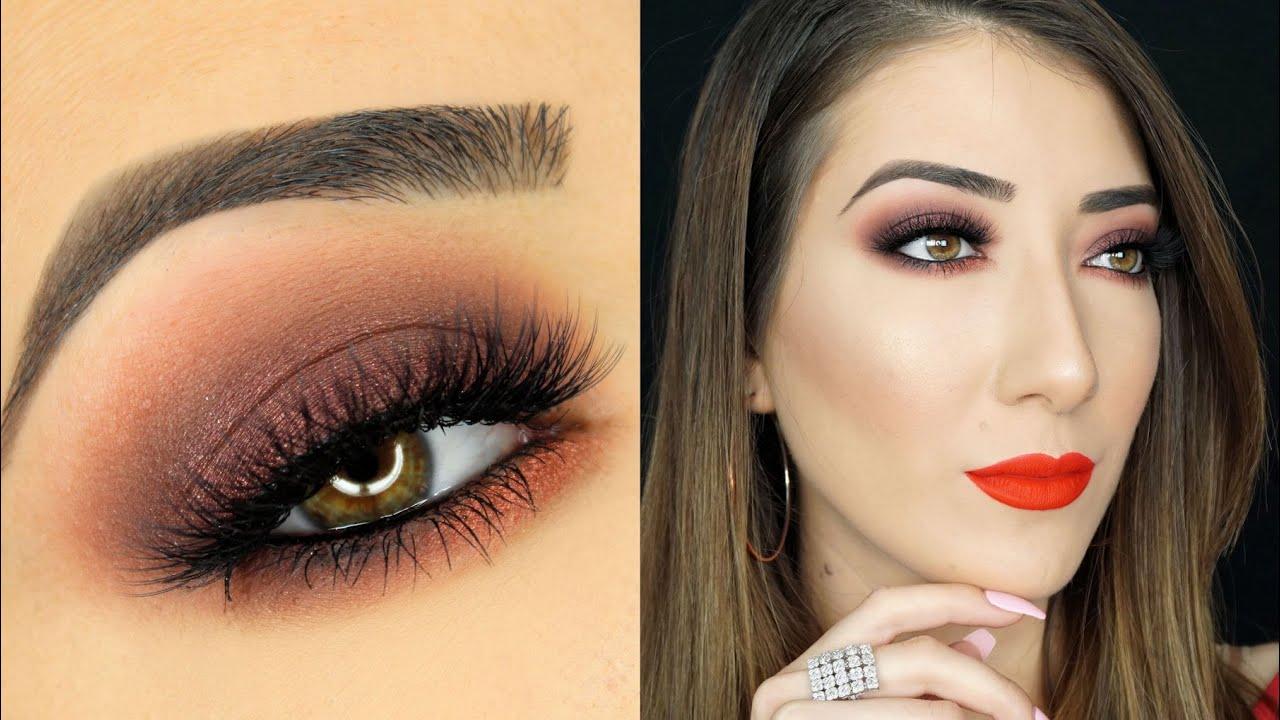 Brown Smokey Eye Makeup Tutorial You
