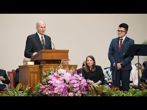 (Mandarin) Prophet Inspires Latter-day Saints in Hong Kong