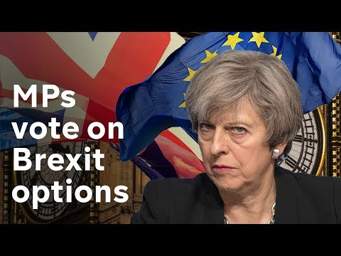 MPs to vote again on Brexit options