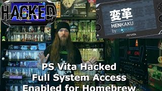PS Vita Hacked Full System Access Enabled for Homebrew - AlphaOmegaSin