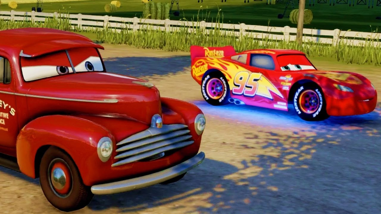 CARS 3 Driven to Win Gameplay HEARTLAND COUNTRYSIDE DASH ...