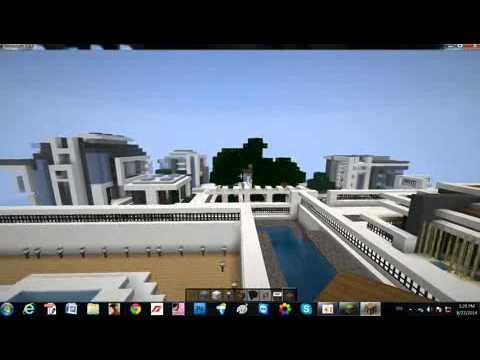 Minecraft Italian Villas On World Of Keralis