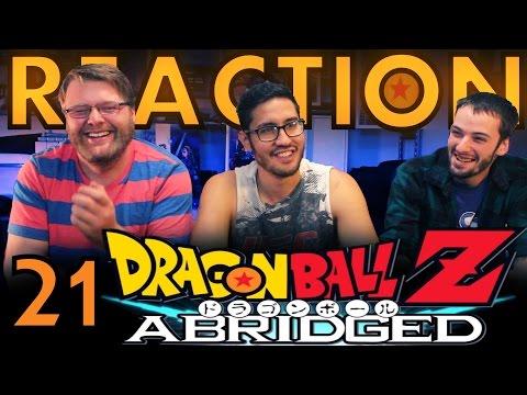 TFS DragonBall Z Abridged REACTION!! Episode 21