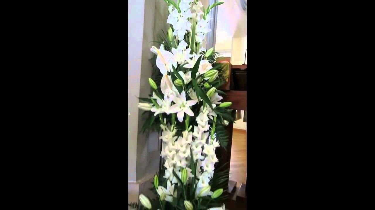 Flores Iglesia Bodas Zaragoza Wwwelrincondelasflorescom