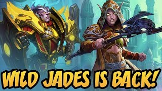 Wild Jades is Back! | Rise Of Shadows | Hearthstone