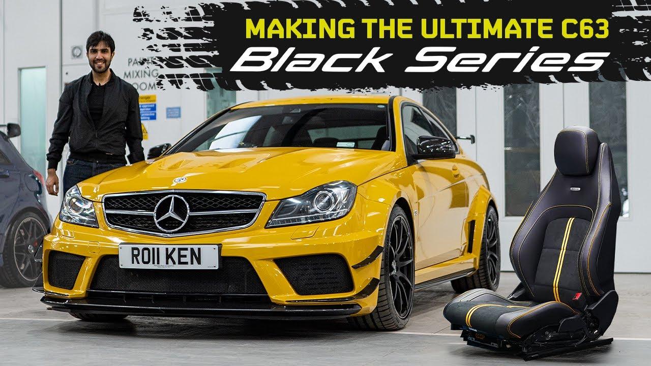 Respray & Retrim?! Recreating The Infamous C63 AMG Black Series!!