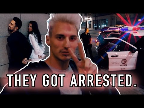 THEY GOT ARRESTED FOR THIS! **RAW POLICE FOOTAGE**