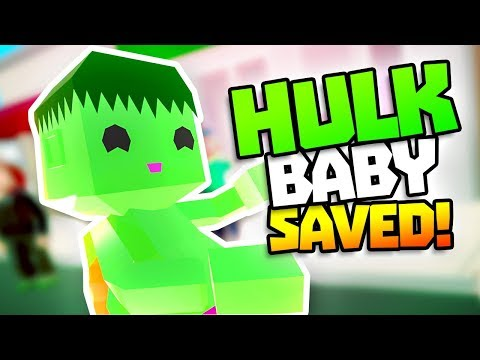 HULK BABY SAVED FROM BURNING BUILDING - Rescuties VR - VR HTC Vive Pro Gameplay