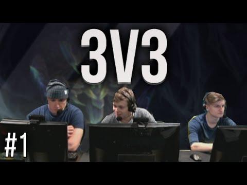 3v3 Alderiate, Chap & Jbzz #1
