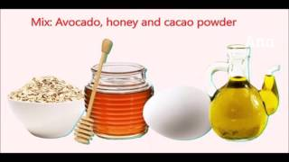 How to mask for face skin with cheap things in your kitchen? Ana Othman