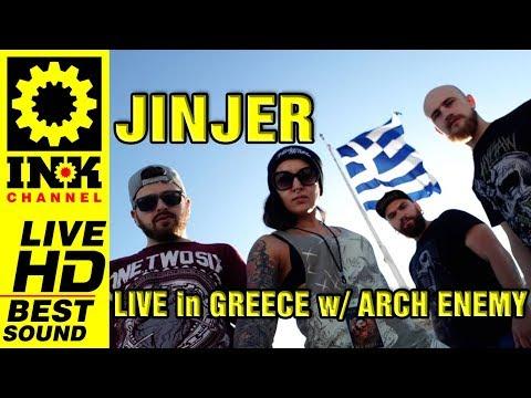JINJER Full Concert w/ ARCH ENEMY [23/9/17 Thessaloniki Greece]