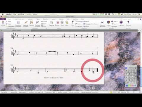 Sibelius 7 Tutorial ITALIANO - Impaginare Una Lead Sheet