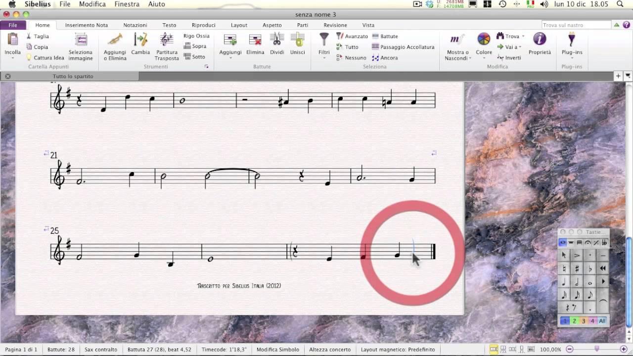 Sibelius 7 tutorial in italiano: introduzione e