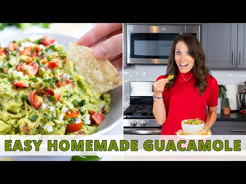 The BEST Ever Homemade Guacamole