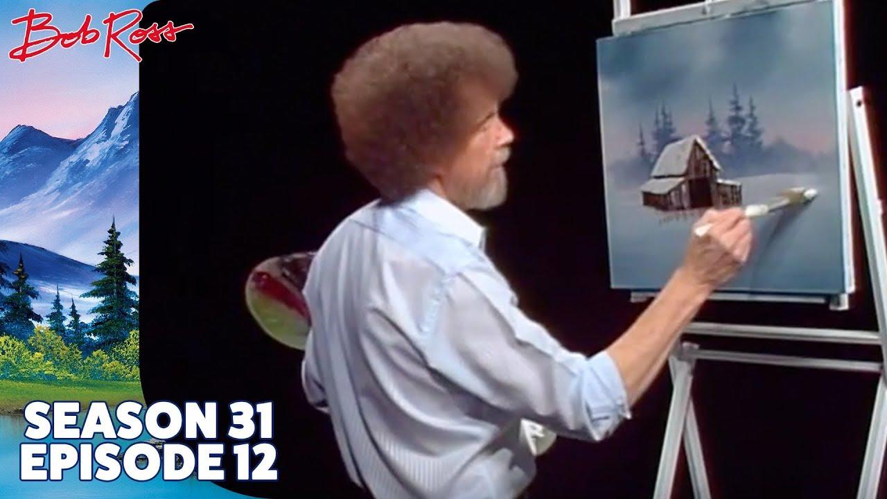 Verschneite Weihnachtsbilder.Bob Ross In The Midst Of Winter Season 31 Episode 12
