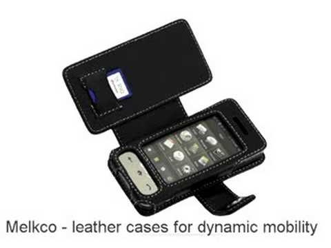 Melkco Tasche Leder Etui cuir ~Samsung SPH-M800 Sprint Instinct - Book Type (Black)