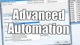 Bet Angel - Advanced Automation