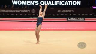 KHARENKOVA Maria (RUS) - 2015 Artistic Worlds - Qualifications Floor Exercise