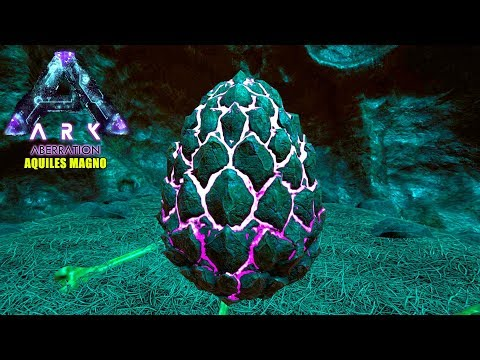 DONDE ENCONTRAR HUEVO ROCK DRAKE  ARK ABERRATION  LOCALIZACION huevo dragon de roca  location egg