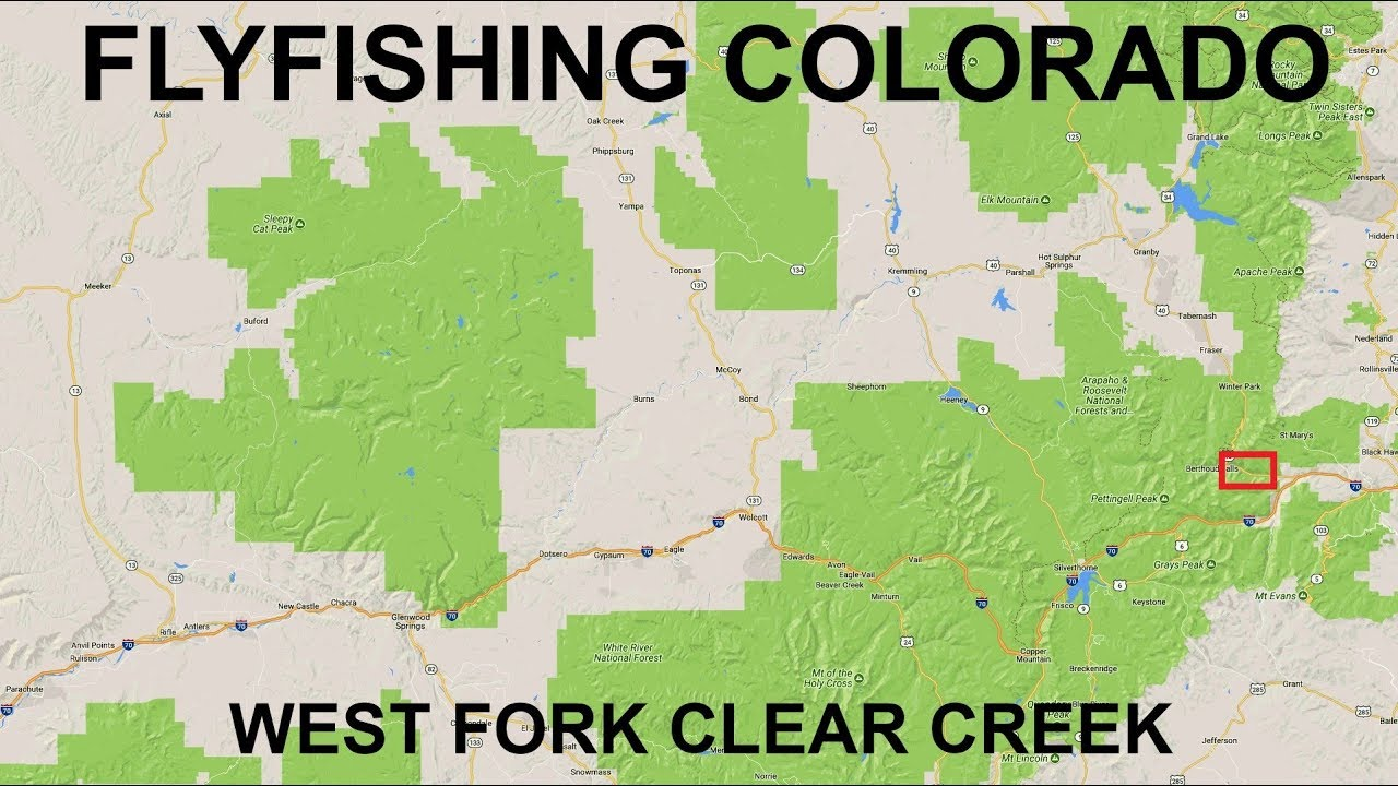 Fishing colorado west fork clear creek youtube for Clear creek fishing report