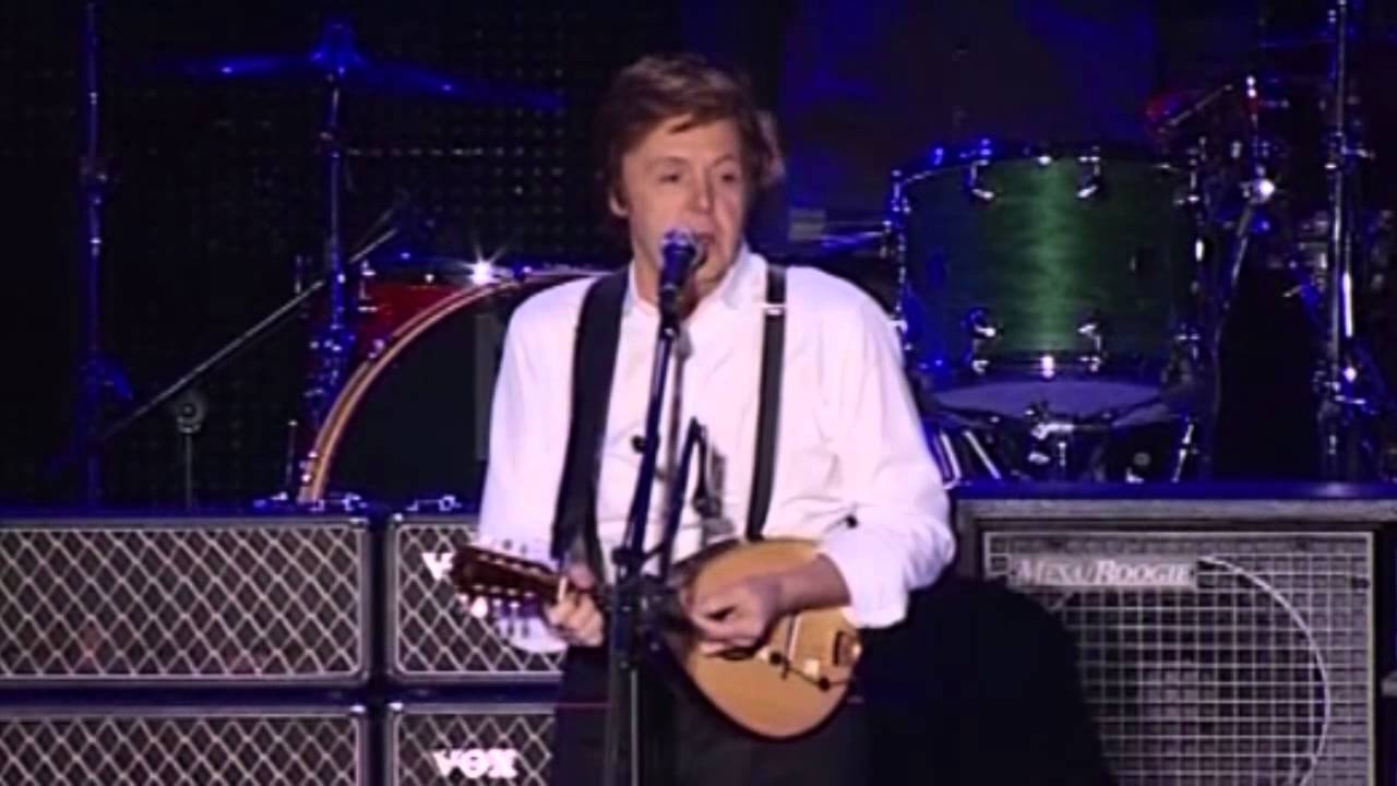 PAUL MCCARTNEY LIVE IN BUENOS AIRES 10 11 2010