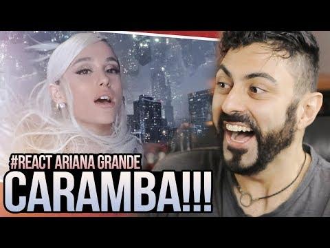 REAGINDO a Ariana Grande - No Tears Left To Cry
