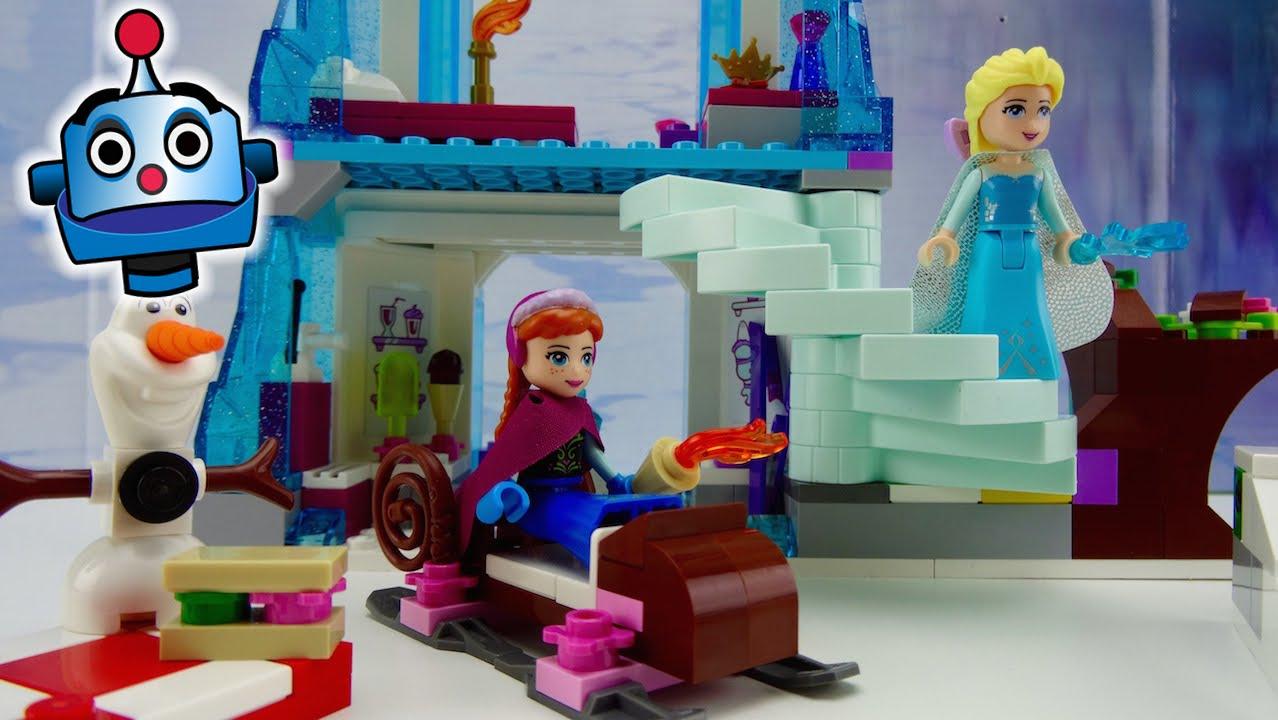 Frozen Lego El Brillante Castillo De Hielo De Elsa Elsa S Sparkling