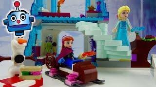 Frozen LEGO El Brillante Castillo de Hielo de Elsa Elsa
