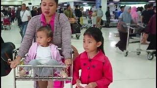 Vlog Pertama Kali Shinta ke Jakarta Naik Pesawat- Kids Airplane Travel