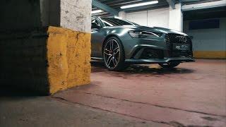 Gambar cover £6k PAINT?! Matte Grey Audi RS6 Avant Swissvax PROTECTED!