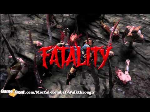 Mortal Kombat - Stage Fatality - Kano + Stryker
